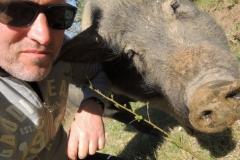 selfie con Ciro